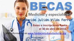 Becas a estudiantes de Medicina