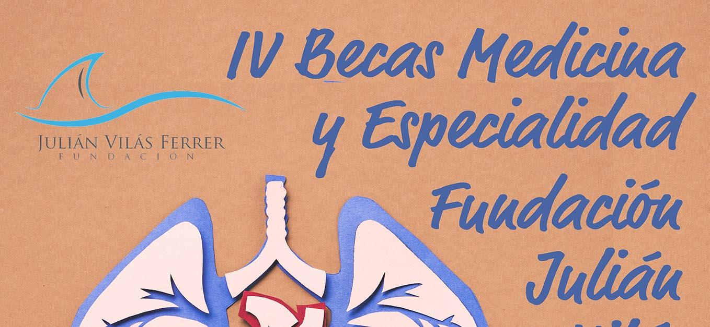 Cartel IV Becas Medicina web 2