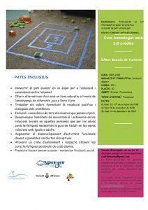Programa Patios inclusivos
