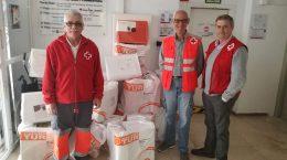 Entrega donación Mantas1