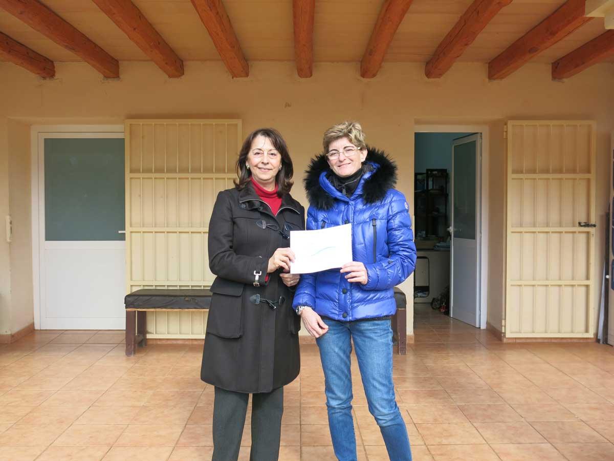 Donación de 3.000 euros a la Asociación Aspanadif